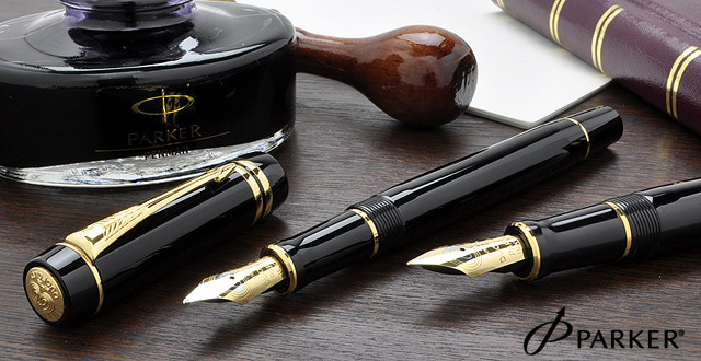 Классическая перьевая ручка Parker